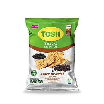Snack Tosh Arroz Silvestre 156g
