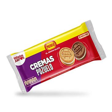Galleta Cremas Pozuelo Mixtas - 12x378g - paquete