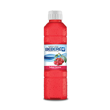 Suero oral - Beberé - 500ml - Sabor cereza