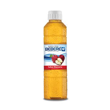 Suero oral - Beberé - 500ml - Sabor manzana