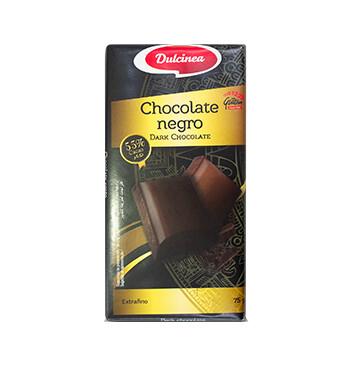 Chocolate Negro - Dulcinea - 75g