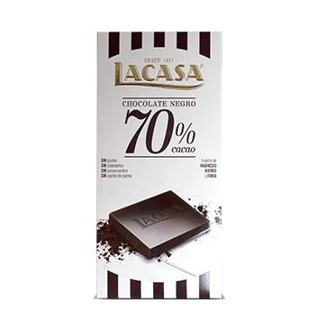 Chocolate 70% Cacao - La Casa - 100g