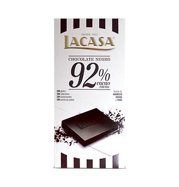 Chocoalte 92% Cacao - La Casa - 100g