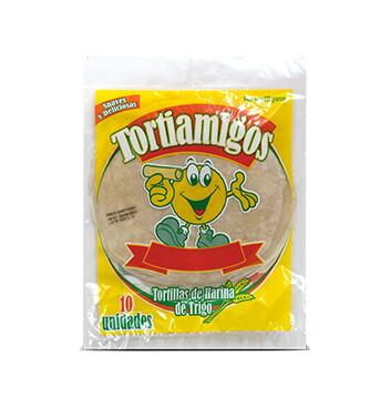 Tortilla de Harina de Trigo - Tortiamigos - 10x225g