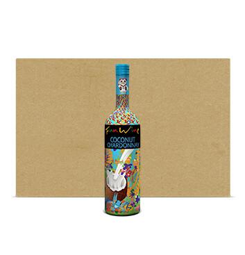 Caja Chardonnay Coconut - Fun Wine - 12x750ml