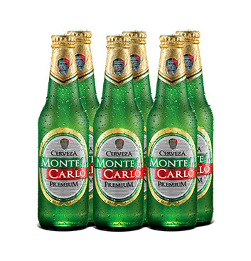 Cerveza Monte Carlo - 6x350ml/botella
