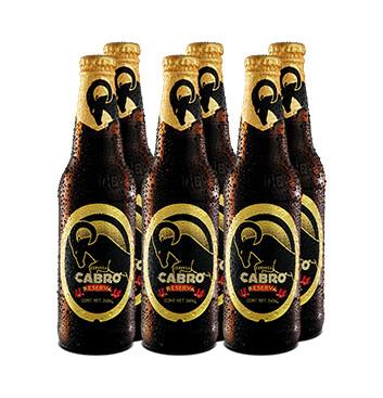 Cerveza Cabro Reserva - 6x350ml