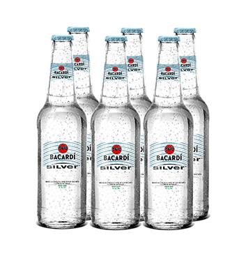 Bacardi Silver - 6x350ml/botella