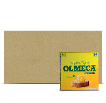 Caja Margarina Olmeca Vitaminada - 24x400g