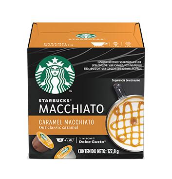 STARBUCKS® by NESCAFÉ® Dolce Gusto Caramel Macchiato 12 Capsulas