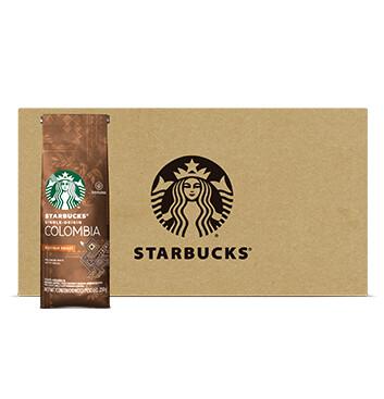 Caja STARBUCKS® Colombia Tueste Medio Café Tostado y Molido 12 x 250g