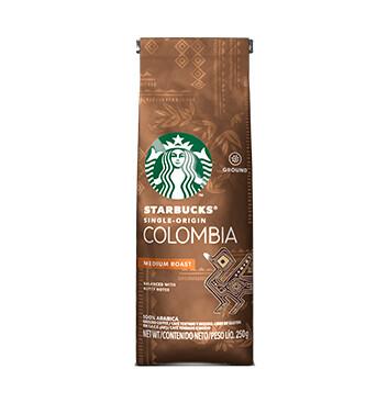 STARBUCKS® Colombia Tueste Medio Café Tostado y Molido Bolsa 250g