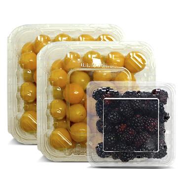 2 Clamshell  Golden Berry - Cosecha del Dia - 150g + Mora