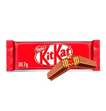 NESTLE KIT KAT 2 Finger Barra de Chocolate con Leche 20.7g