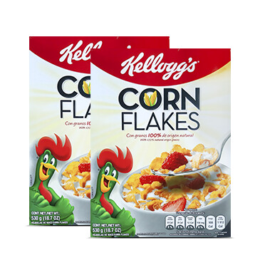 Cereal Corn Flakes - 2x530g