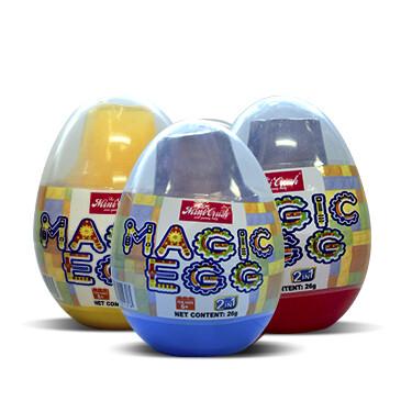 Magic Egg + 1 Lego Toy - Sabores Surtidos - 3x1