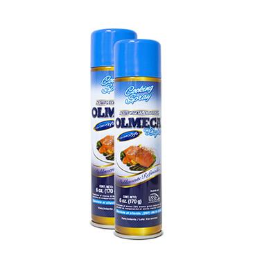 Aceite light Spray - Olmeca - 2x170g