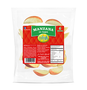Manzana Gala en Gajos Gofresh® - 6 Meriendas