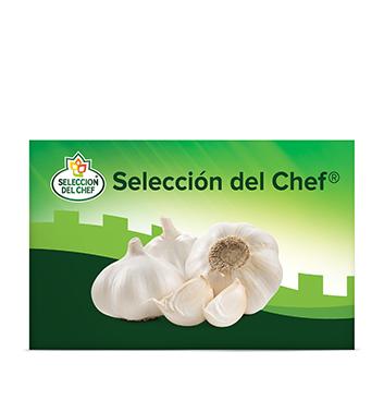 Caja con Redes de Ajo Selección del Chef® - 22 Libras