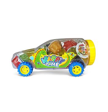 Mega Gelatinas Mini Fruity Gels® Carro Tradicional - 1225g