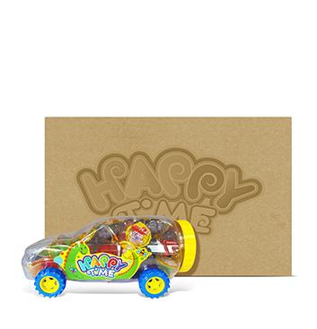 Caja de Mini Gelatinas Mini Fruity Gels® Carro Tradicional - 6x1500g