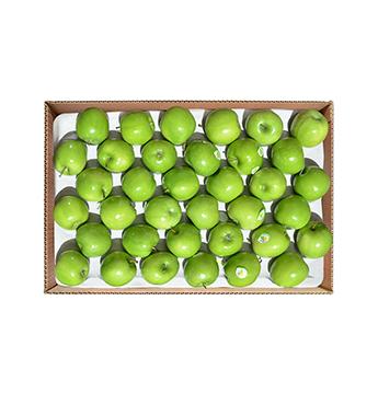 Caja de Manzana Verde Mediana (Cal. 150-163) - 40 Libras