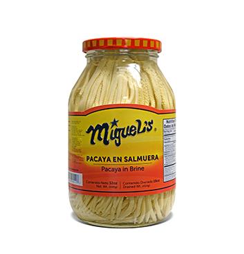 Pacayas en Salmuera Miguel's® - 32 oz