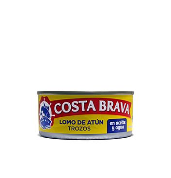 Lomo de Atún en Trozos en Aceite y Agua Costa Brava® - 6 oz
