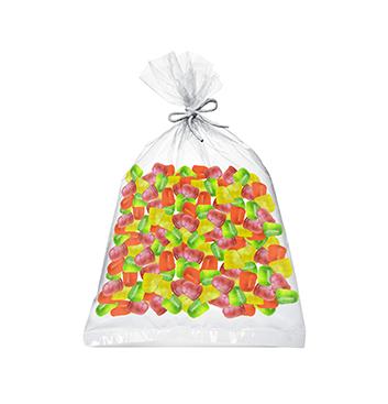 Fardo de Mini Gelatinas Mini Fruity Gels® Bolsa Tradicional - 15000g