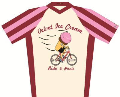 Velvet Ice Cream Cycling Jersey