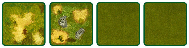 [Offer] Plain and Broken Ground 4-Tile Expansion Set