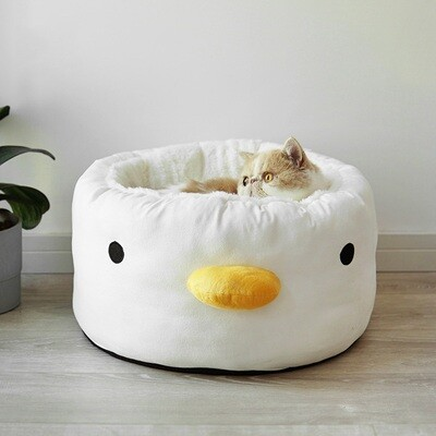 Little Chick Plush Pet Bed