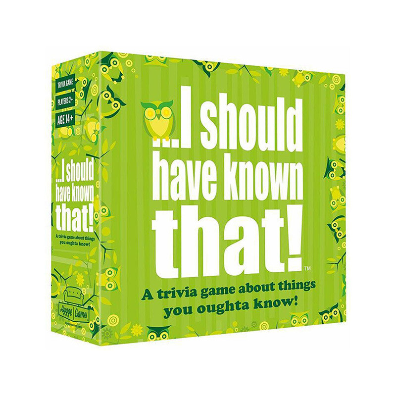 I should have known that! Party Game
