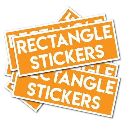 Rectangle Shaped Stickers