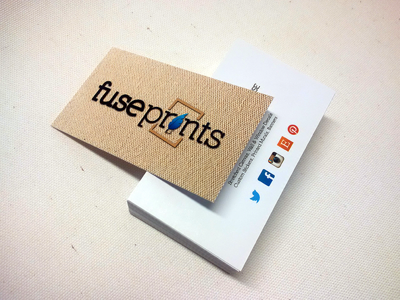 Business Cards 14pt Cardstock