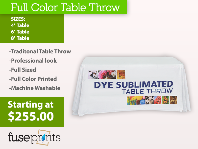 Draping Table Throws