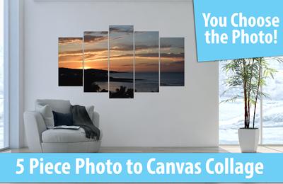 5 Piece Canvas Collage