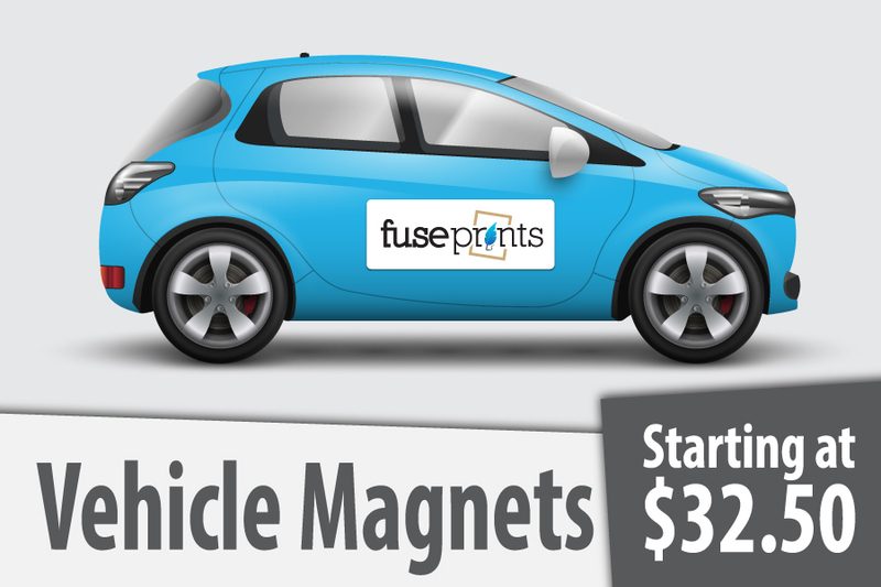 Full Color Printed Vehicle Magnets
