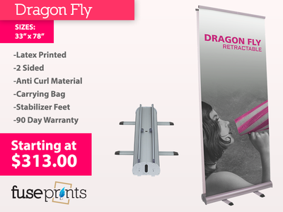 2 Sided Banner Stand