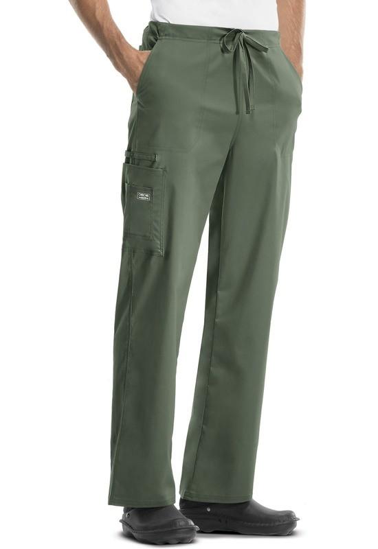 Pantalone Unisex CHEROKEE CORE STRETCH 4043 Colore Olive