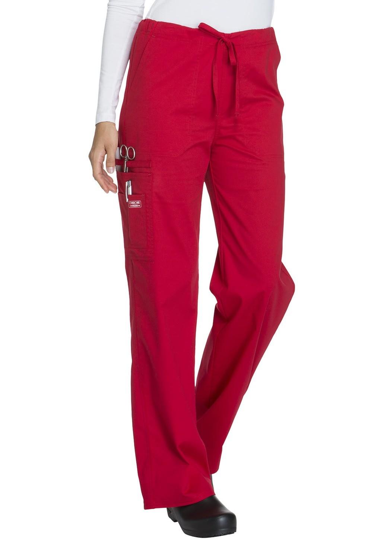 Pantalone Unisex CHEROKEE CORE STRETCH 4043 Colore Red