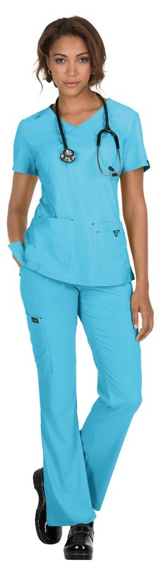 Casacca KOI BASICS KATIE Colore 65. Electric Blue