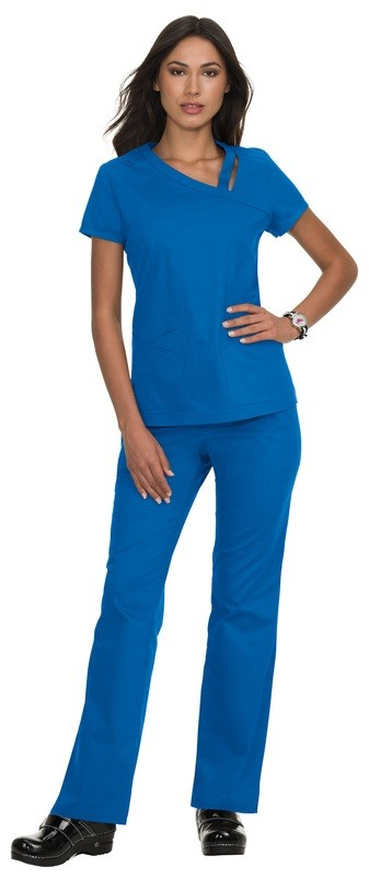 Casacca KOI STRETCH LEAH Colore 20. Royal Blue - FINE SERIE