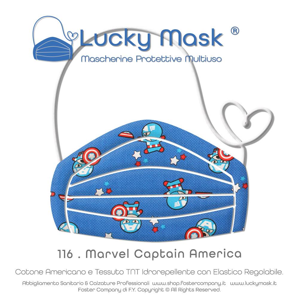 Mascherine Protettive Lavabili Multiuso LUCKY MASK