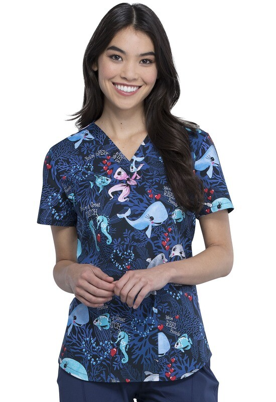 Casacca CHEROKEE PRINT CK652 You Are Fintastic