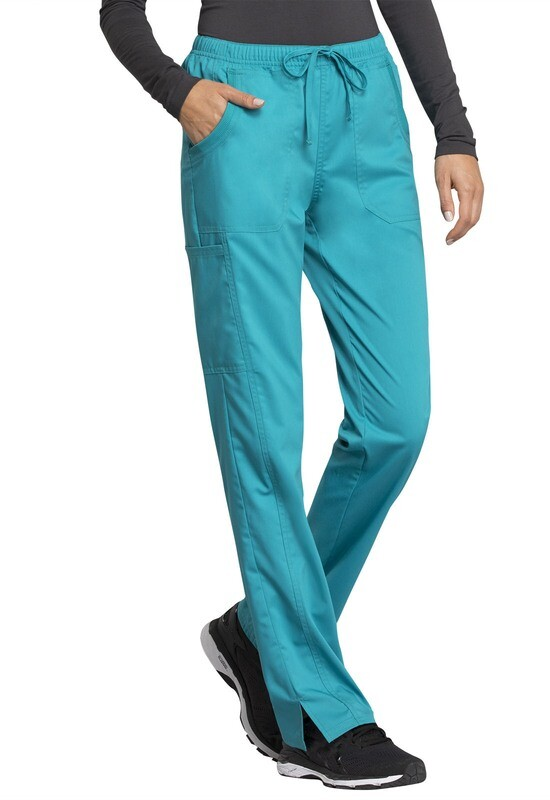Pantalone CHEROKEE REVOLUTION TECH WW235AB Colore Teal Blue