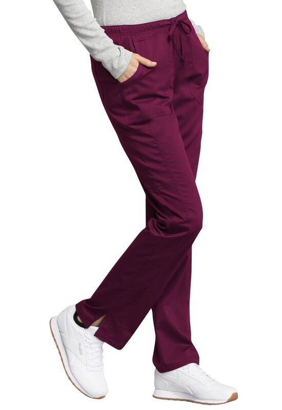 Pantalone CHEROKEE REVOLUTION TECH WW235AB Colore Wine