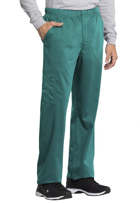 Pantalone CHEROKEE REVOLUTION TECH WW250AB Colore Teal Blue