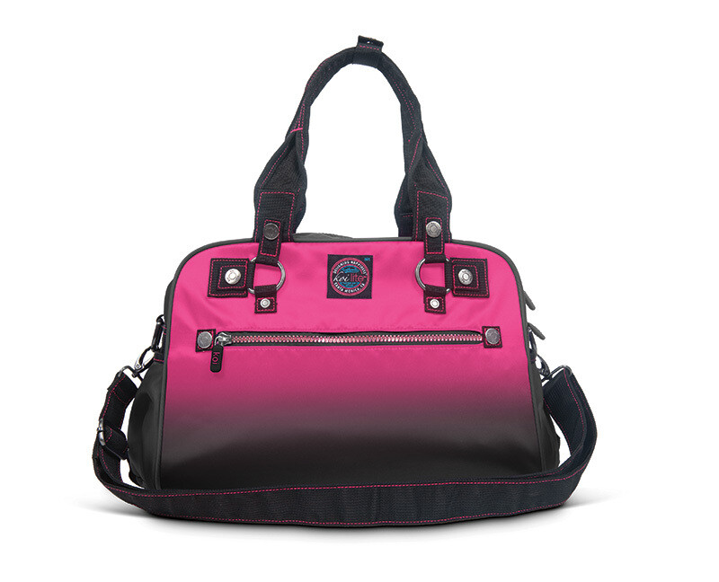 Accessori Koi Borse Ombre Utility Bags Flamingo/Black