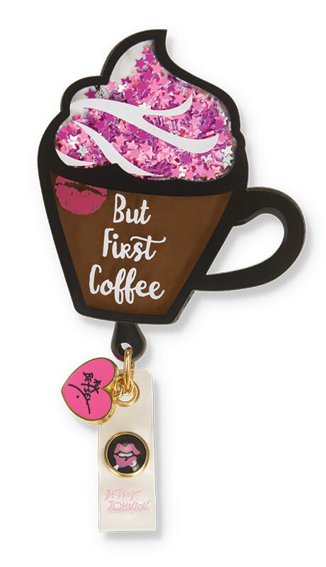 Accessori Koi Porta Badge Coffee